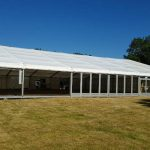 Silverstone marquee rigging - complete (2018)
