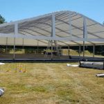 Silverstone marquee rigging - midway (2018)