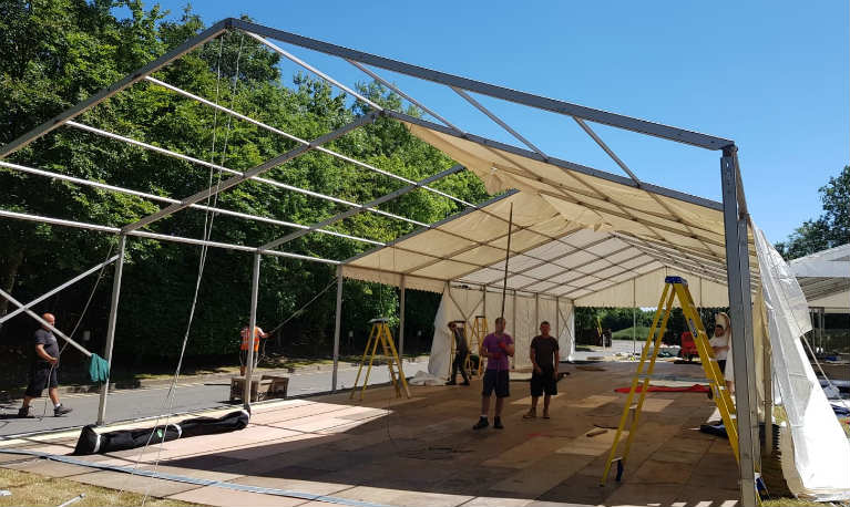 Hire Marquee Riggers - London, UK & Europe - Marquee Crew