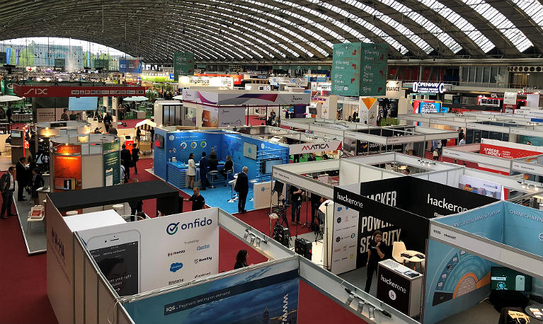 hestex systems used at amsterdam exhibtion