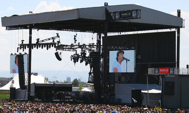2009 Mile High Music Festival Main Stage Photo by Mike Hardaker Mountain Weekly News