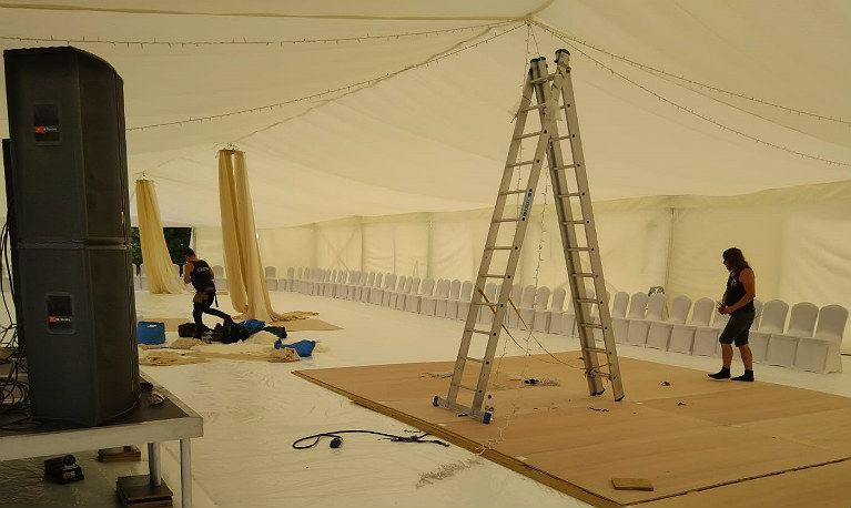 Hire Marquee Riggers - London, UK & Europe - Marquee Crew Hire